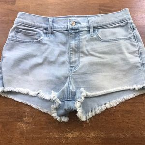 Ambercrombie cutoff jean shorts